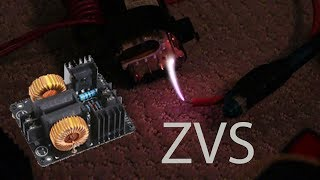 Ebay ZVS Flyback Driver from China - It Works!