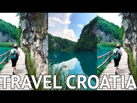 ADVENTURES IN CROATIA! Travel Vlog in Zagreb & Stunning Plitvice Park!