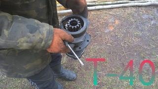 Замена выжимного подшипника сцепления трактор т40