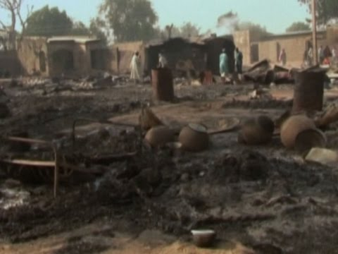 Raw: Aftermath Of Boko Haram Attack In Nigeria