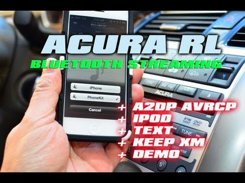 ACURA RL IPOD & BLUETOOTH STREAMING, XM NAV TRAFFIC ,  AutoToyscom & Isimple PXAMG GATEWAY ISBT21