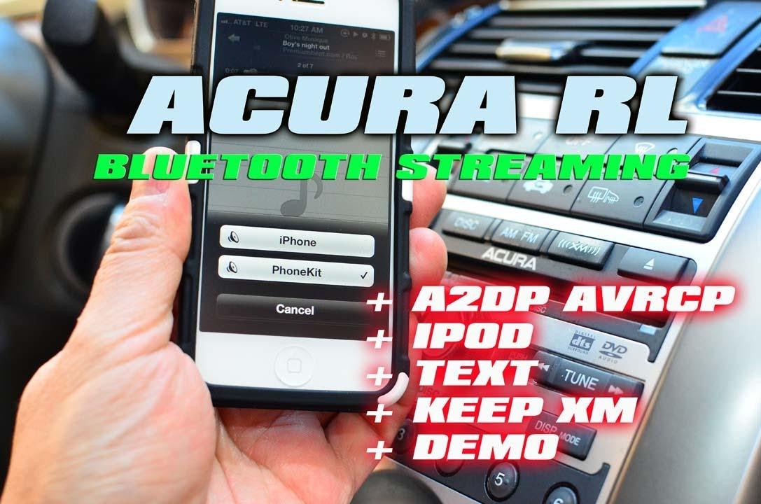 ACURA RL IPOD BLUETOOTH STREAMING XM NAV TRAFFIC By AutoToys - Acura rl 2005 aux input