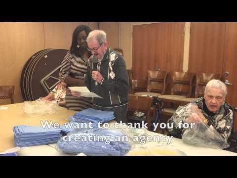 Senior Volunteers Surprise Coordinator with Generosity to Mothers in Ghana