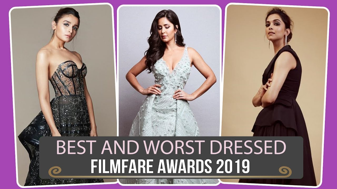 Deepika Padukone, Alia Bhatt, Katrina Kaif: Best and worst dressed at the Filmfare awards 2019