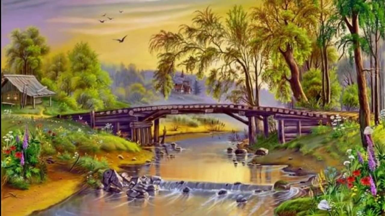 Pinturas de paisajes hermosos youtube - Los cuadros mas bonitos ...