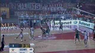 Olympiakos vs PAO 78-68 Greek League 2007 Finals