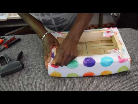 diy queen anne footstool upholstery kit time lasp dvd