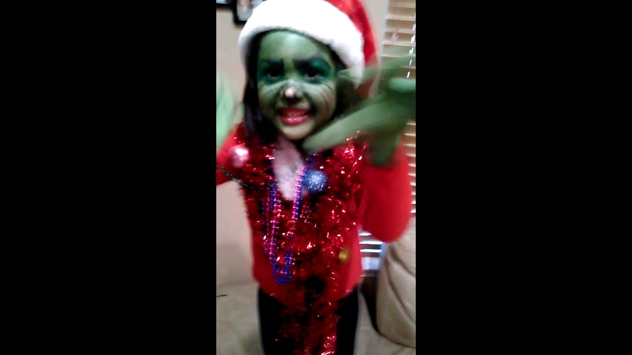DIY Mr. Grinch Kids Costume Idea  sc 1 st  YouTube : grinch costume child  - Germanpascual.Com