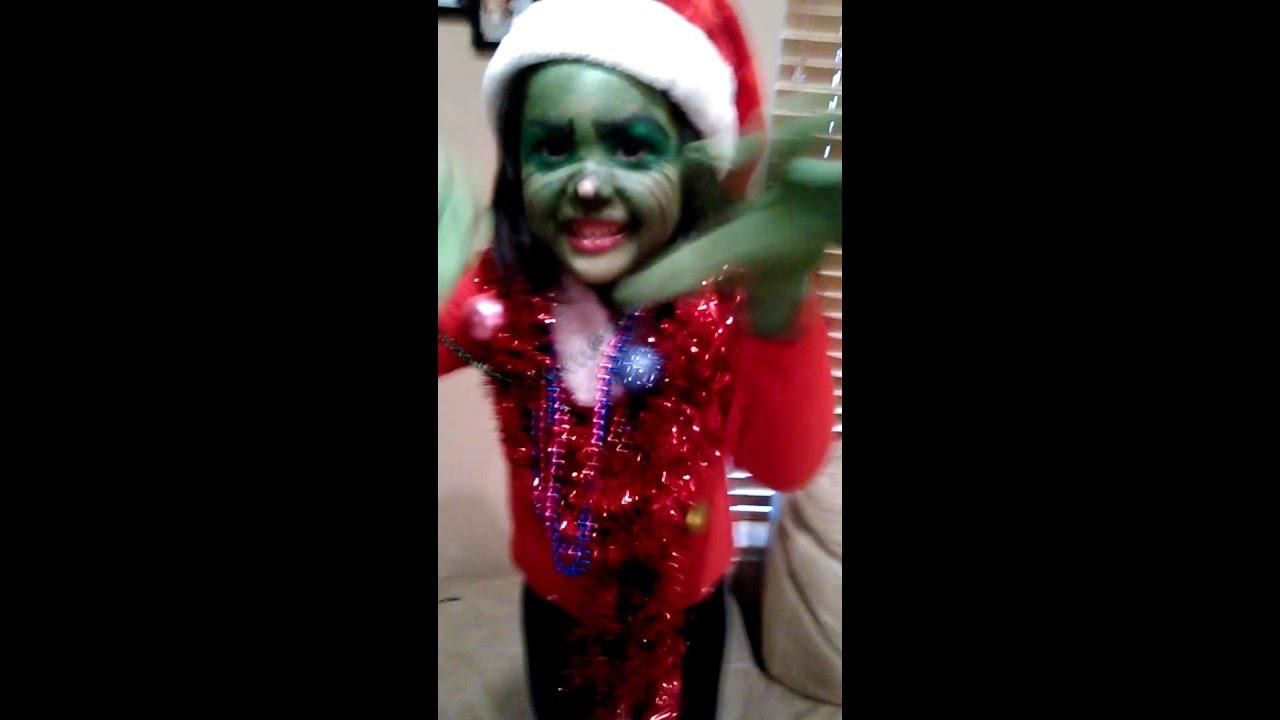 DIY Mr. Grinch Kids Costume Idea  sc 1 st  YouTube & DIY Mr. Grinch Kids Costume Idea - YouTube