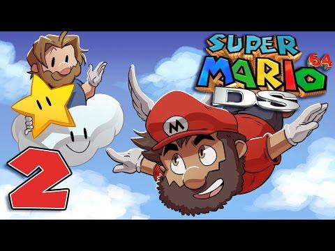 Super Mario 64 DS | Let's Play Ep. 2: Goombario | Super Beard Bros.