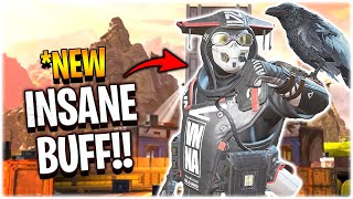 They gave Bloodhound the BIGGEST BUFF EVER.. (Apex Legends)