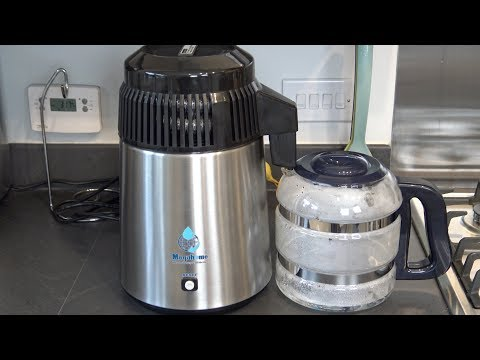 Megahome Water Distiller Unboxing & First Use