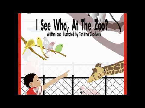 Children's Story - I see who, at the zoo?