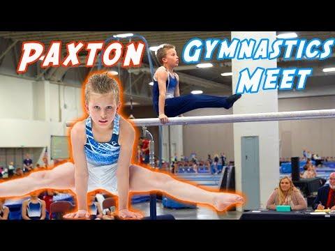 Paxton's 1st Gymnastics Meet On Youtube!