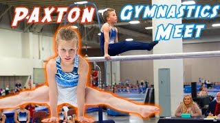 Paxton's 1st Gymnastics Meet on Youtube!
