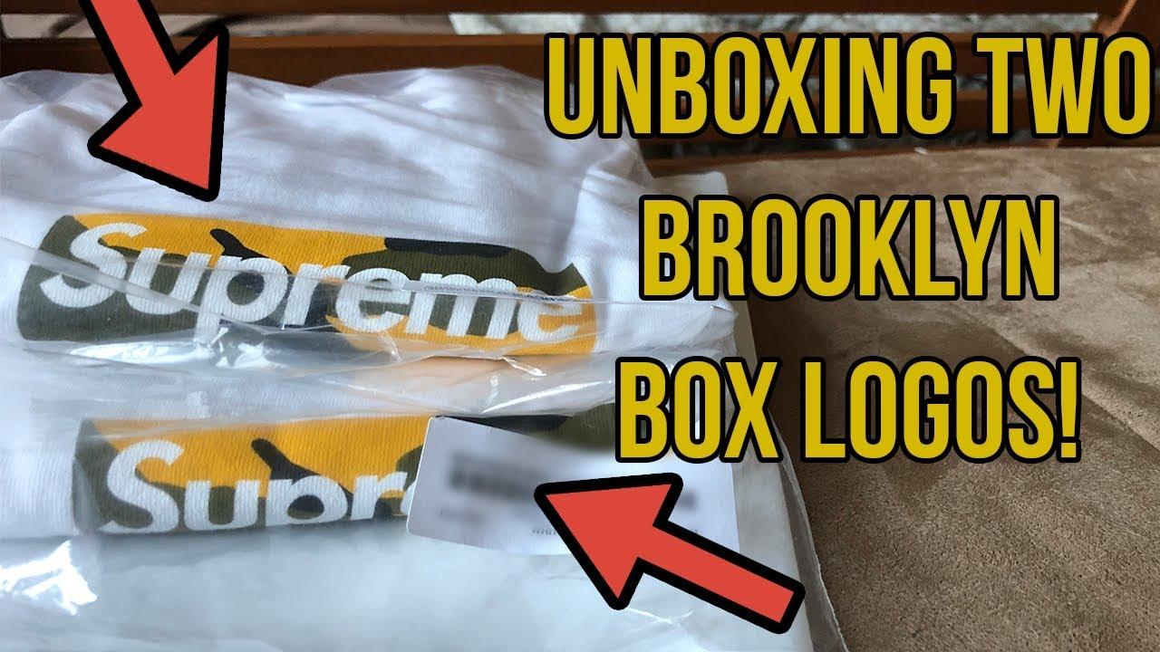 Supreme Brooklyn Box Logo Fake Vs Real - Just Me And Supreme
