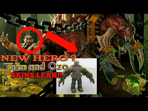 New Hero And Skins LEAK [[VainGlory]]