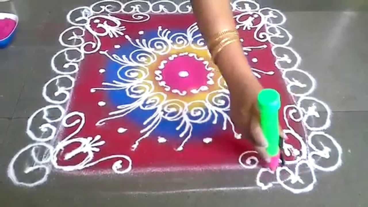 Sanskar bharti rangoli galicha design for diwali - YouTube for Sanskar Bharati Rangoli Designs Blog  157uhy