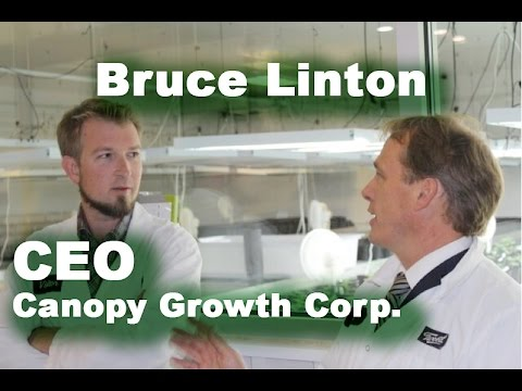 Bruce Linton: Canopy Growth Corp CEO - YouTube