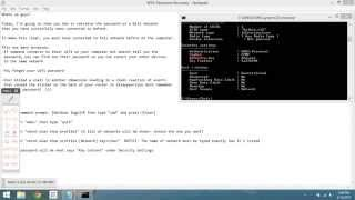 how to hack wifi password via command prompt