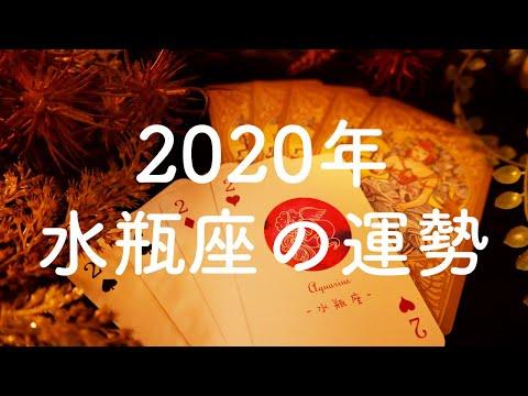 【2020年】水瓶座(みずがめ座)の運勢💫年間リーディング【タロット占い】