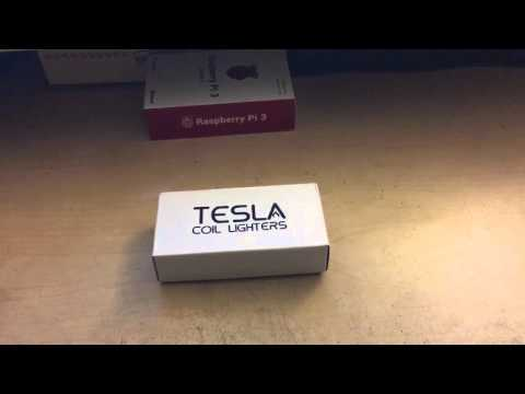 Tesla Coil Lighters