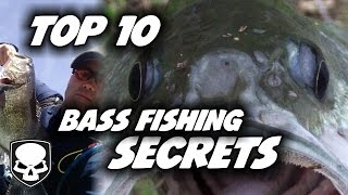 Top 10 Bass Fishing Tricks - for beginners - Tips and Tricks for Catching Bass