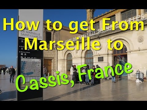 The easiest way to get from Marseille to Cassis