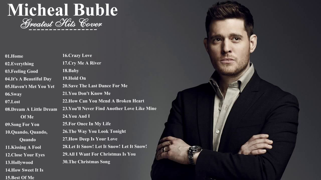 All michael buble songs list