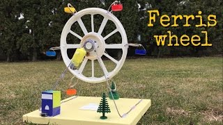 Wow! Amazing DIY Toy - How to Make an Electric Ferris Wheel at Home