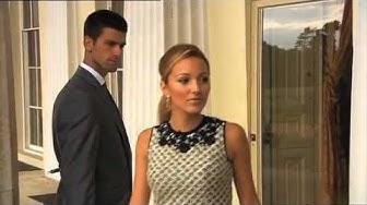 Novak Djokovic and Girlfriend - ATP World Tour Uncovered