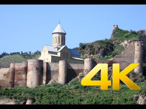 DJI Inspire 1 Narikala Fortress,ნარიყალას ციხესიმაგრე, Church, 4K Awesome aerial video footage