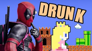 Deadpool and Drunk Princess NES Hacks - Mike Matei Live