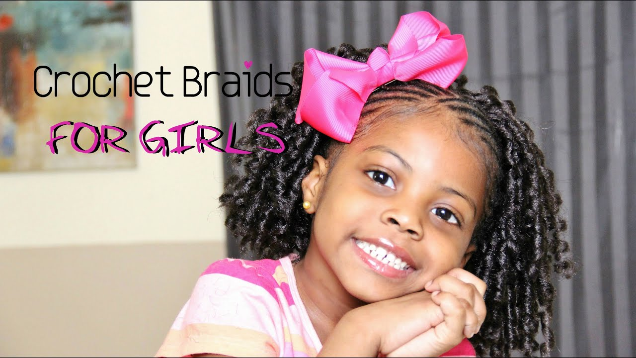 cutest crochet braids for little girls! | teeday6 - youtube