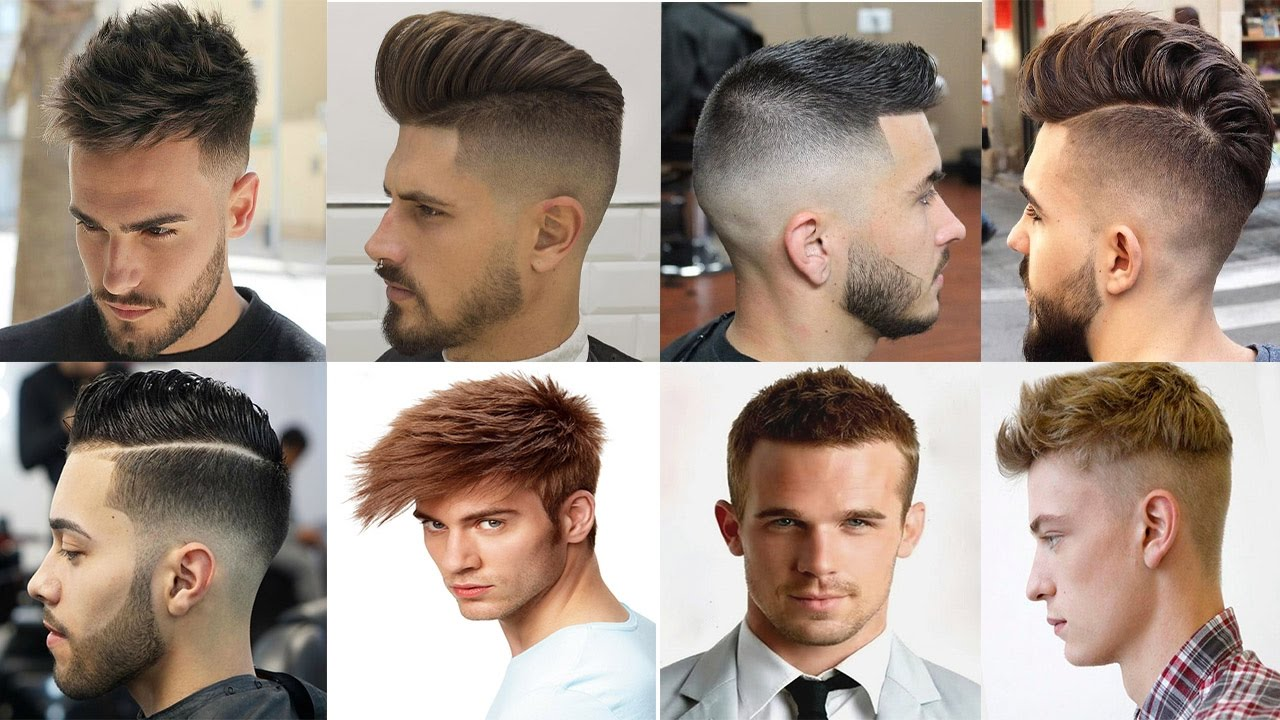 Different Men's Hairstyles