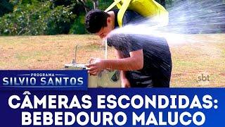 Bebedouro Maluco - Drinking Fountain Prank   Câmeras Escondidas (15/07/18)