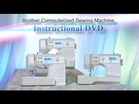 CP40 SQ40 HC40 Instructional Video English YouTube Interesting Brother Computerized Sewing And Quilting Machine Hc7140