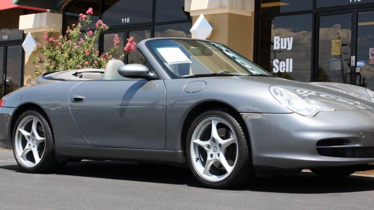 2002 Porsche 911 Carrera 996 C2 Cabriolet Youtube
