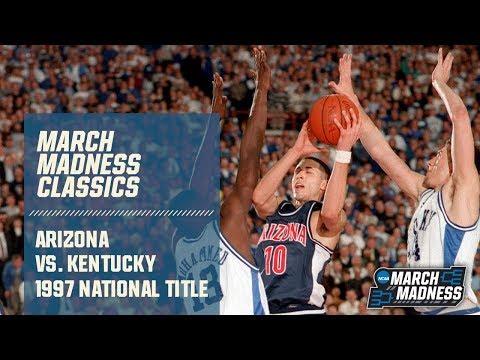 Arizona vs. Kentucky: 1997 National Championship   FULL GAME