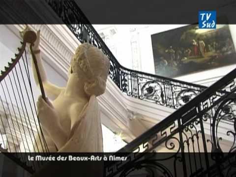 Le musée des Beaux-Arts à Nîmes