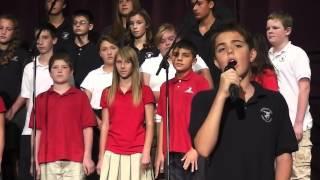 American Tears - Jaime Milson (10 yrs) and ACS Jr. High Choir
