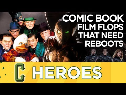 Comic Book Movie Flops That Deserve a Reboot - Heroes
