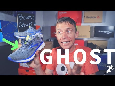 Brooks Ghost 11 first run, free kicks, thanks Runners Roost!