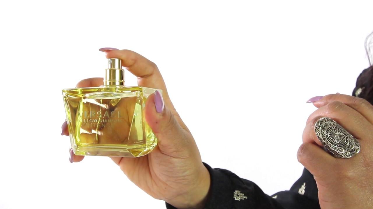 Versace Yellow Diamond Intense Perfume Review Youtube