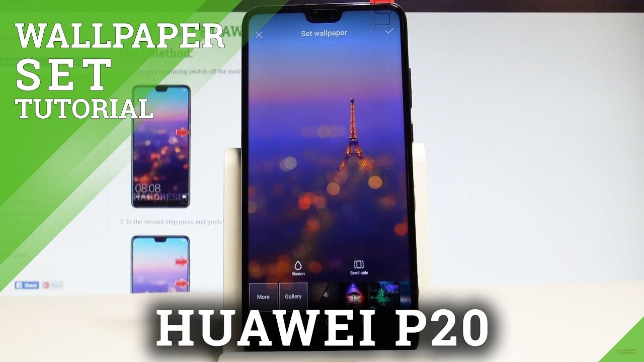 How To Change Wallpaper In Huawei P Set Up Wallpaper Hardreset Info