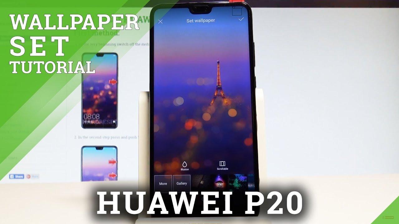 Huawei P20 Lite Обои Экрана Блокировки