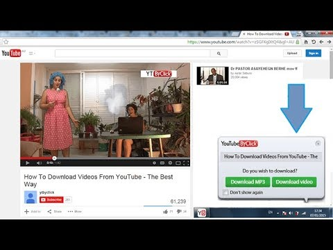 How to download FREE MP3 or MP4 file from YouTube via Chrome Browser in  2018 | The best Way