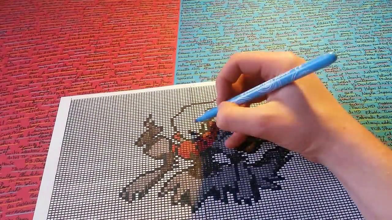 Tuto Pixel Art Pokemon Un Pokémon Terrifiant Darkrai