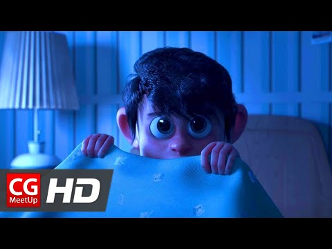 "CGI 3D Animated Short Film ""The Return of The Monster"" by MegaComputeur 