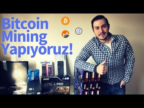 Bitcoin Madenciliği Yapıyoruz! İlk Mining Rig Kurulumu